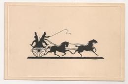 ILLUSTRATEUR MOCHI / CALECHE / OMBRES CHINOISES SILHOUETTE B2147 - Autres Illustrateurs