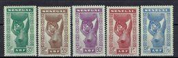 Sénégal - N°144/148 - Neufs - X - Traces De Charnières - - Unused Stamps