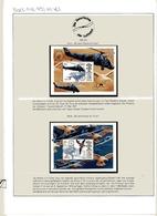 Nevis MiNr. Block 148-49 Postfrisch MNH Luftfahrt (RF5114 - Briefmarken