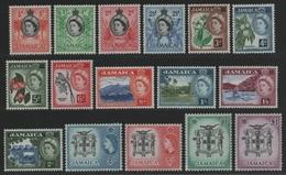 Jamaika 1956 - Mi-Nr. 161-176 ** - MNH - Freimarken / Definitives - Jamaïque (...-1961)