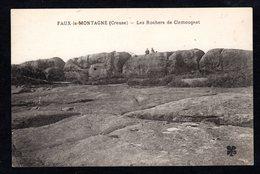 - FAUX-la-MONTAGNE -  ( Creuse) Les Rochers De Clamougeat ( MTIL ) - France