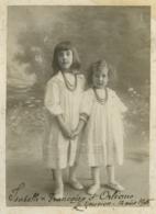 Les Princesses Isabelle Et Françoise D'Orléans Au Nouvion En 1905 . Grèce . - Famous People