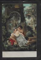 AK 0413  Werff , A. Van Der - Schäferscene / Künstlerkarte Um 1916 - Malerei & Gemälde