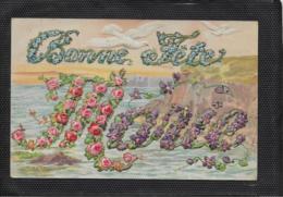 AK 0413  Bonne Fete - Prägekarte Um 1918 - Feiern & Feste
