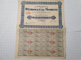 Pétroles De Moreni - Pétrole
