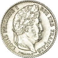 Monnaie, France, Louis-Philippe, 1/4 Franc, 1840, Lille, SUP, Argent - France