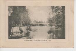 CPA Montigny-sur-Loing - Vue Du Pont (avec Pourtour En Relief) - France