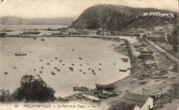 ALGERIE  PHILIPPEVILLE  Le Port Et La Plage   ..... - Skikda (Philippeville)