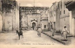 MAROC  TAZA  Porte Du Méchouard Du Sultan - Maroc