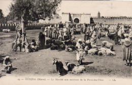 MAROC  OUJDA  Le Marché Aux Moutons De La Porte Des Têtes - Autres