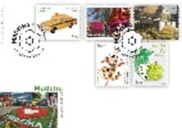 Portugal  & FDC Self-Adhesives, Madeira, 2020 (8424) - Stamps