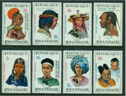 """-Rwanda-1973-""""Native Women"""" MH (*) - Rwanda"""