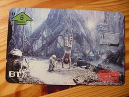 Phonecard United Kingdom, BT - Star Wars, The Empire Strikes Back 7. 1000 Ex. - Regno Unito