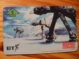Phonecard United Kingdom, BT - Star Wars, The Empire Strikes Back 6. 1000 Ex. - Regno Unito