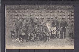 80 YVRENCH REUNION DE CHASSE CHEZ M. FOURQUIER 8 SEPTEMBRE 1906 - Autres Communes