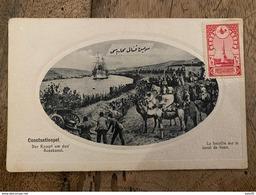 TURQUIE : CONSTANTINOPLE : La Bataille Sur Le Canal De Suez .................... OD-4581 - Turkije