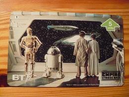 Phonecard United Kingdom, BT - Star Wars, The Empire Strikes Back 1. 1000 Ex. - Regno Unito