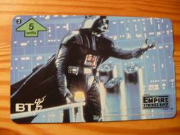 Phonecard United Kingdom, BT - Star Wars, The Empire Strikes Back 3. 1000 Ex. - Regno Unito
