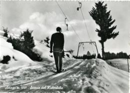 ASIAGO  VICENZA  Sciovia Del Kaberbaba  Skilift  Sci Ski - Vicenza