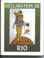 Mini Livre : DECLARATION De RIO Sur L'environnement Et Le Développement - Autres