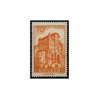 Timbre N° 488 Neuf ** - Vue De La Principauté. Type De 1939-41. Cathédrale De Monaco. - Monaco