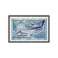 """Timbre N° 596 Neuf ** - Exposition """"L'homme Sous La Mer"""", à Monaco. Sous-marin Et """"Nautilus"""" De Fulton. - Monaco"""