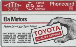 PHONE CARD- PAPA NUOVA GUINEA (E57.1.2 - Papouasie-Nouvelle-Guinée