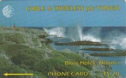PHONE CARD- TONGA (E57.3.4 - Tonga