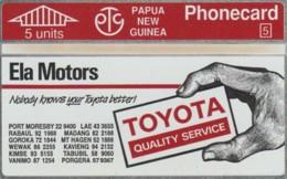 PHONE CARD- PAPA NUOVA GUINEA (E57.9.1 - Papouasie-Nouvelle-Guinée