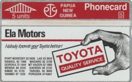 PHONE CARD- PAPA NUOVA GUINEA (E57.9.2 - Papouasie-Nouvelle-Guinée