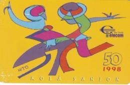 PHONE CARD- CAPO VERDE (E57.10.8 - Kaapverdische Eilanden