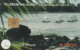 PHONE CARD- MADAGASCAR (E57.18.4 - Madagascar