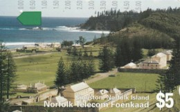 PHONE CARD- ISOLE NORFOLK (E57.18.7 - Isla Norfolk