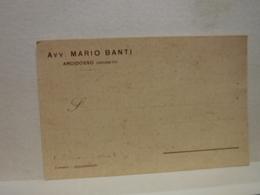 ARCIDOSSO   -- GROSSETO  ---   AVV.  MARIO  BANTI - Grosseto