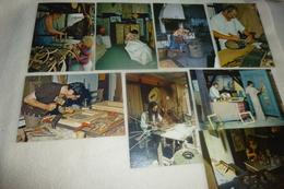LOT DE 8 CARTES VILLAGE D'ARTISANS D'ART DE LA HUME ...GUJAN MESTRAS...GIRONDE... - Cartes Postales