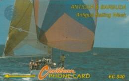 PHONE CARD- ANTIGUA BARBUDA (E57.24.7 - Antigua And Barbuda