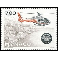 Timbre N° 1952 Neuf ** - 50ème Anniversaire De L'Organisation De L'Aviation Civile Internationale. - Monaco