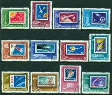 """-Hungary-1963- """"Airmail"""" (o) - Hungary"""