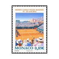 Timbre N° 2817 Neuf ** - Sport. Tennis. Monté-Carlo Rolex Masters 2012. Stade De Tennis De Monte-Carlo. - Monaco