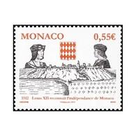 Timbre N° 2819 Neuf ** - 500ème Anniversaire De L'Indépendance Et De La Souveraineté De Monaco - Monaco