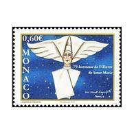 Timbre N° 2821 Neuf ** - 75ème Kermesse De L'oeuvre De Soeur Marie. Religieuse Dessinée Par Karl Lagerfeld. - Ungebraucht
