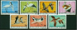 """-Hungary-1977- """"Birds"""" (o) - Used Stamps"""