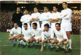 REAL MADRID  Equipo De Futbol - Fussball