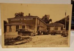 Carte Postale Ancienne Vienne Le Château - Hostellerie De L'Argonne- PIOT Propriétaire - France