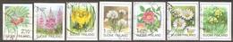 Finlande - 1991 à 1999 - Fleurs - YT 1095, 1155, 1165, 1183, 1216, 1262 Et 1448 Oblitérés - Usados