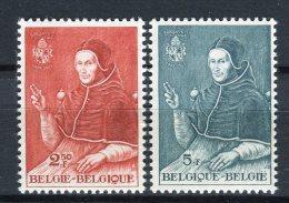 Bélgica 1959. Yvert 1109-10 ** MNH. - Ungebraucht