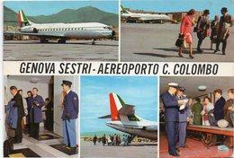 GENOVA SESTRI - AEROPORTO C. COLOMBO - Vedute - Genova