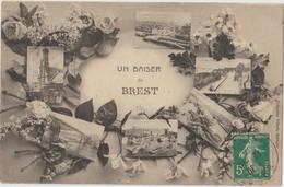 BREST - Un Baiser De Brest - Six Mini Vues De Brest. - Brest