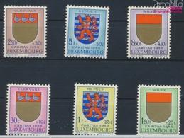 Luxemburg 612-617 (kompl.Ausg.) Postfrisch 1959 Luxemburger Wappen (9257968 - Luxemburg