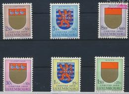 Luxemburg 612-617 (kompl.Ausg.) Postfrisch 1959 Luxemburger Wappen (9257970 - Luxemburg